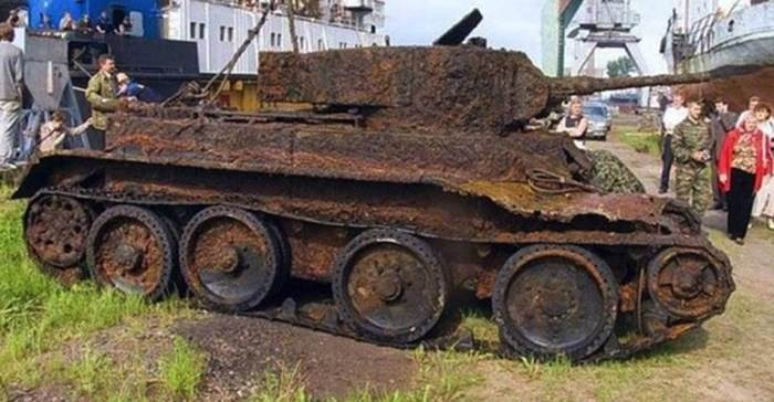 Какую память хранил танк времен Второй мировой войны