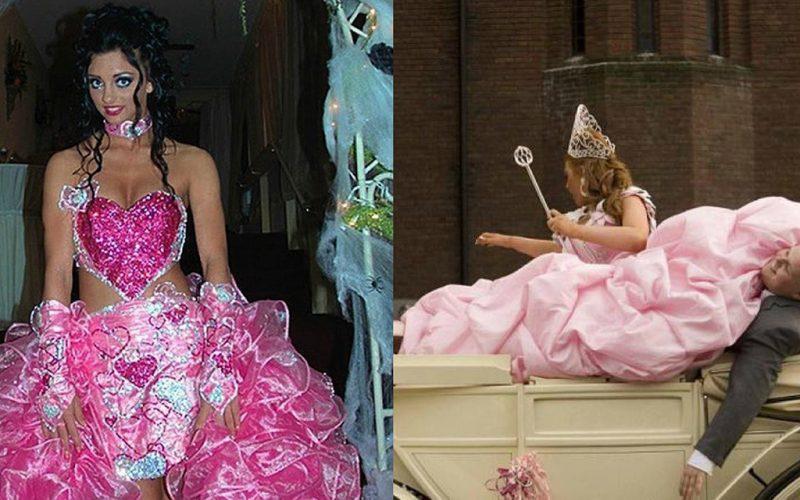 Самые нелепые свадебные платья. Фотоподборка