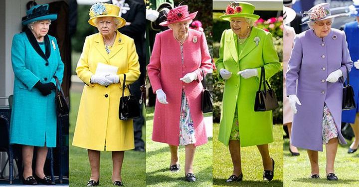 Что же явилось необычным атрибутом гардероба Елизаветы II? А вы ранее этого замечали?