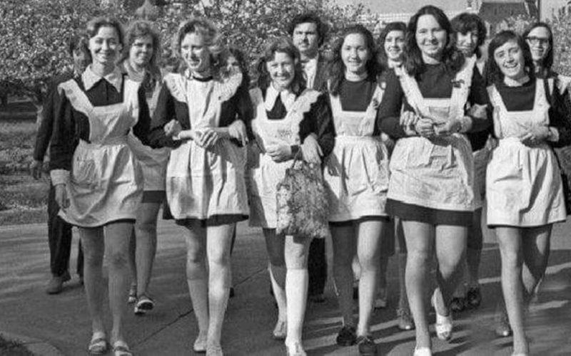Как выглядели советские школьницы, и что для них стояло на первом месте