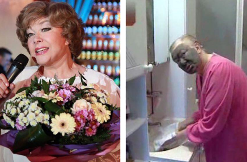 Эдита Пьеха впервые сняла парик и смыла макияж