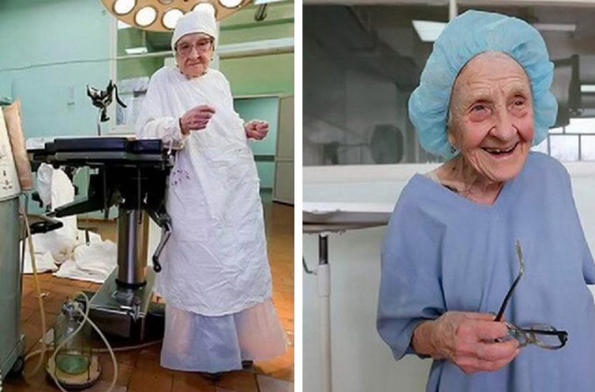 92 года не мешают ей делать операции!