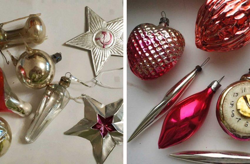 «Назад в СССР»: Новогодние ретро-игрушки