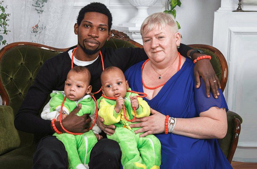 «После 50 жизнь только начинается»: в Сети обсудили новые снимки двойняшек, рожденных от нигерийца 4 года назад