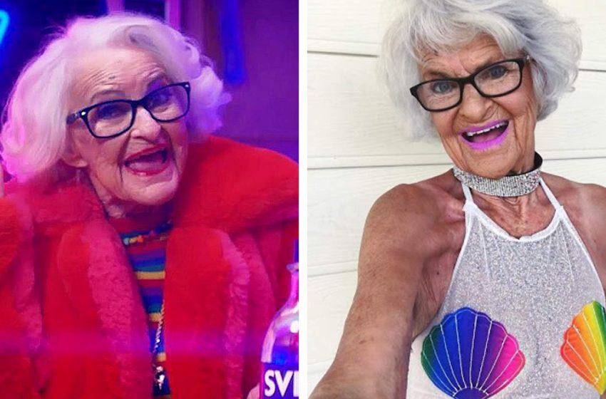 «Бабуля, полегче!»: 92-летняя модель очаровала пользователей социальных сетей