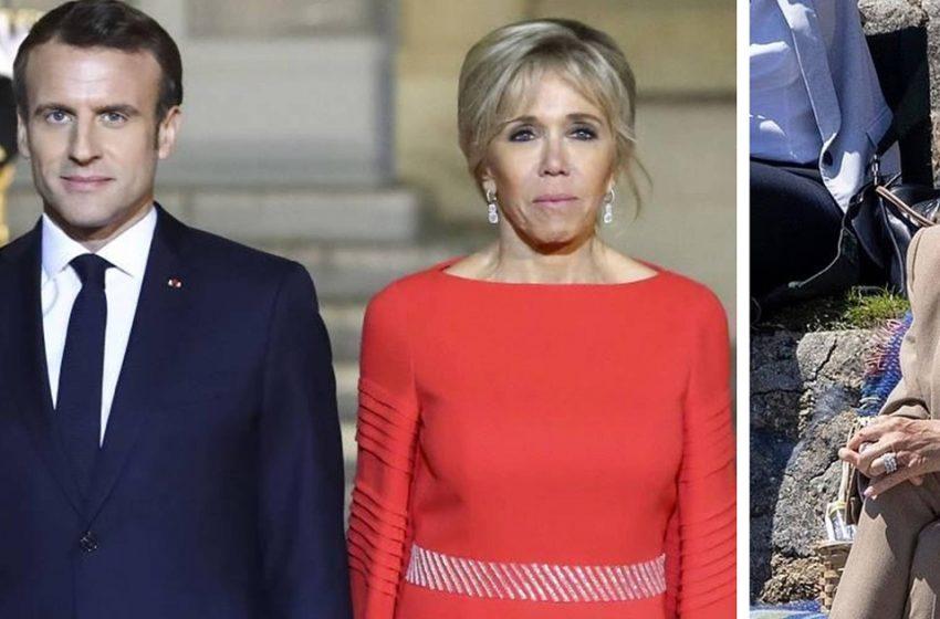 «Лицо 80-летней бабушки»: в Сети обсуждают новое фото жены президента Франции Брижит Макрон