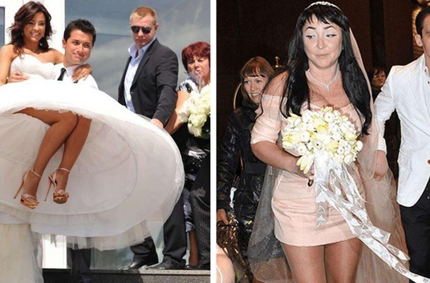 «Как же романтично»։ подборка фотоснимков наших звезд со свадебных церемоний